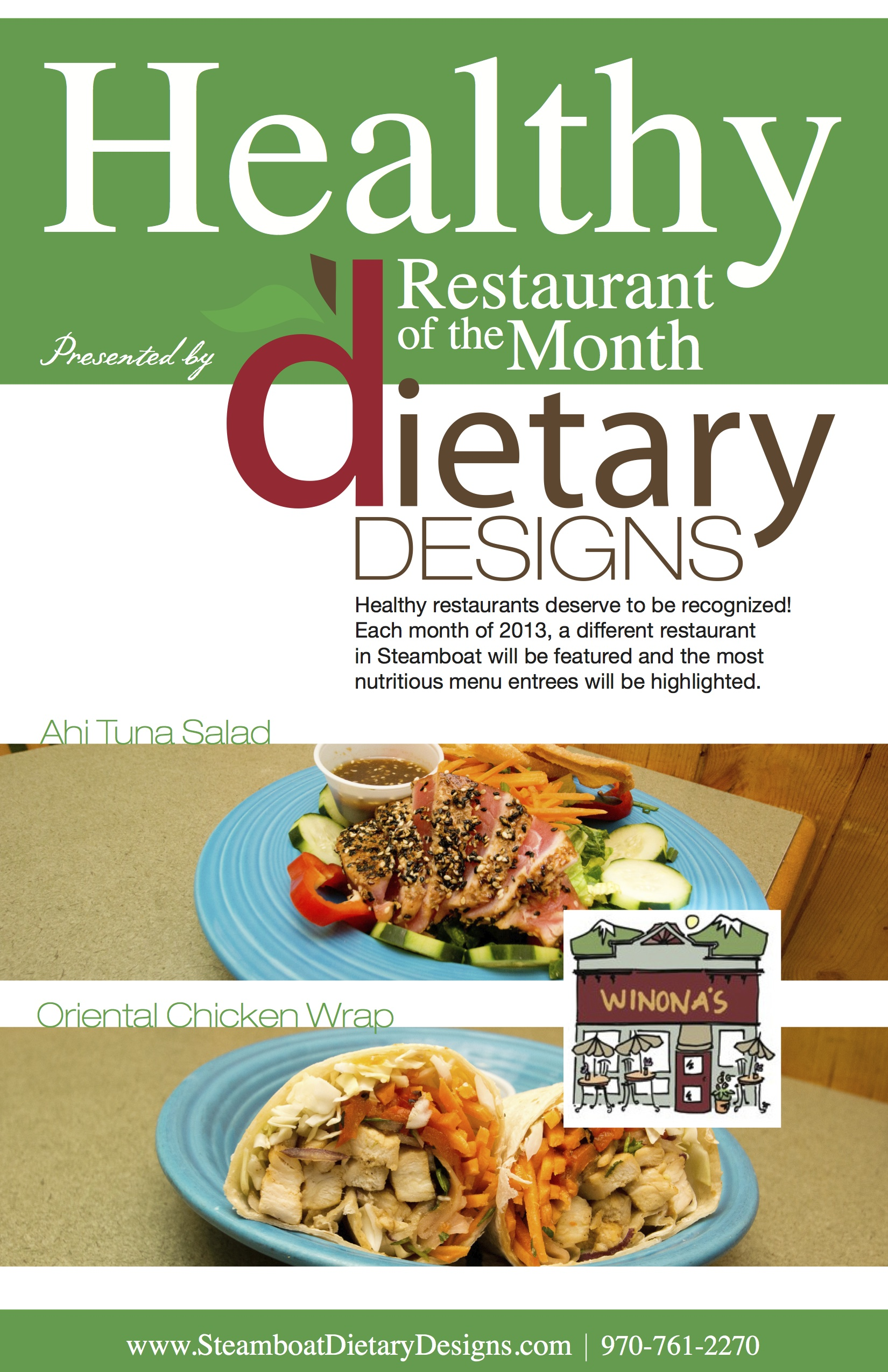 Healthy Restaurant of the Month