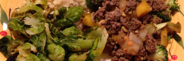 Stir-Fry with Brussels Sprouts