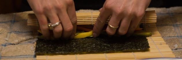 How to Roll Sushi – Woo Hoo!